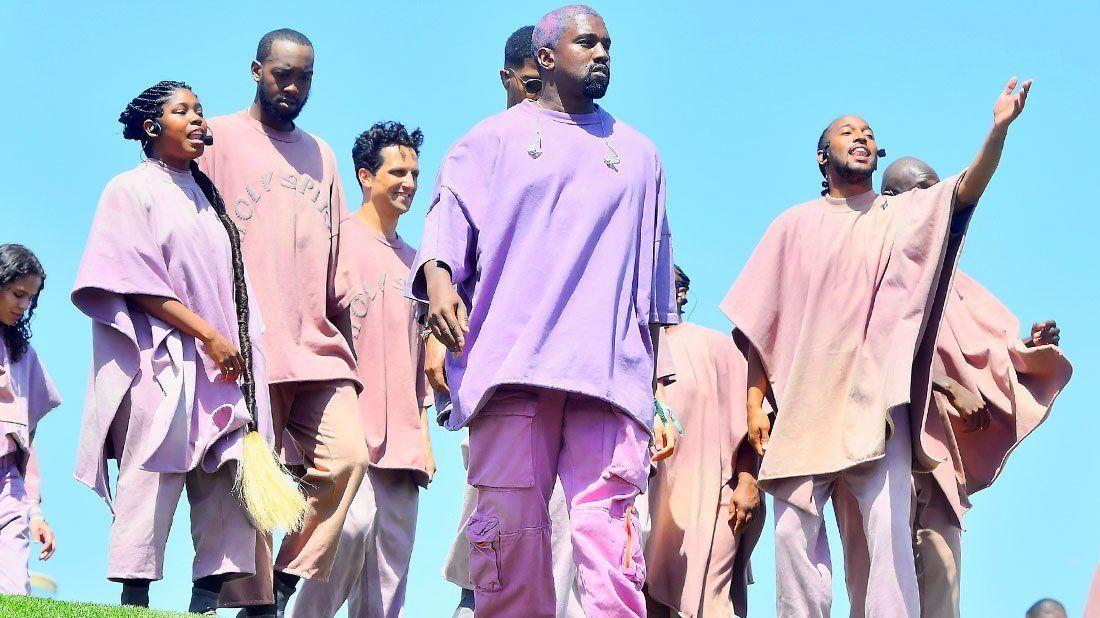 2021 Kanye West Sunday Service At The White House In 2020 Kanye West Kanye Boyce