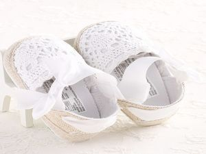 Lace Tie Sandals for baby's first shoes! get yours at www.pinkcottonllc.com