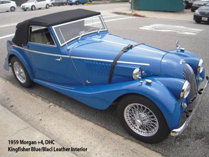 1959 Morgan Plus 4 Drophead Coupe
