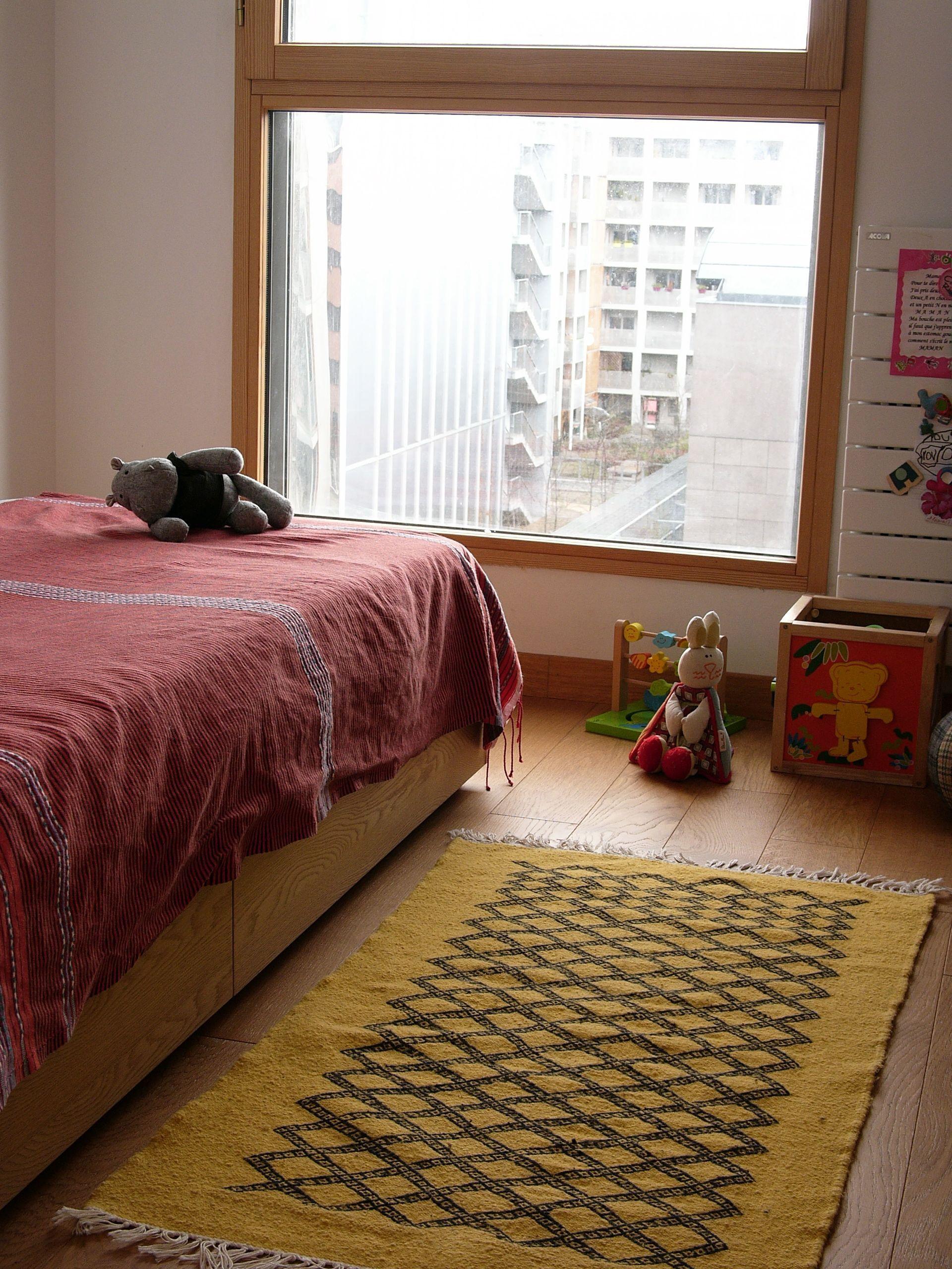 Pour un mélange de styles et de couleurs les tapis berb¨res seront