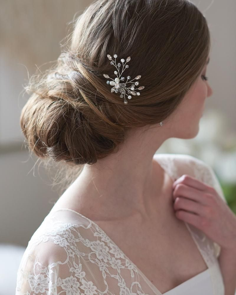 audrey crystal hair pin in 2019 | products | pinterest