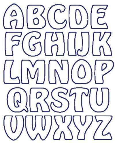 Applique Letter Templates Free Google Search Letters Alphabet Template Free Printable Letter Stencils Letter Stencils Printables Printable Letter Templates