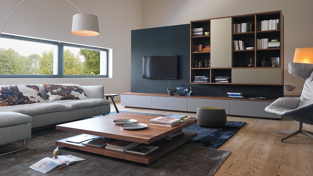 team 7 möbel wohnzimmer | Wood furniture, Solid wood and Entry hall