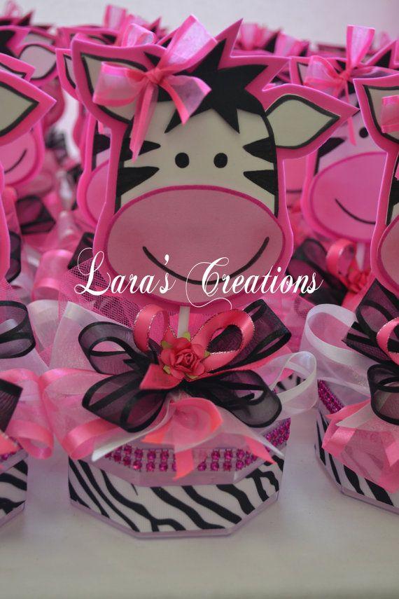 zebra favors zebra baby shower favors zebra by larascreationsshop, Baby shower invitation