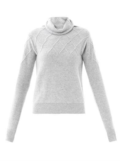 MAISON MARTIN #MARGIELA Diamond-knit turtle-neck #sweater