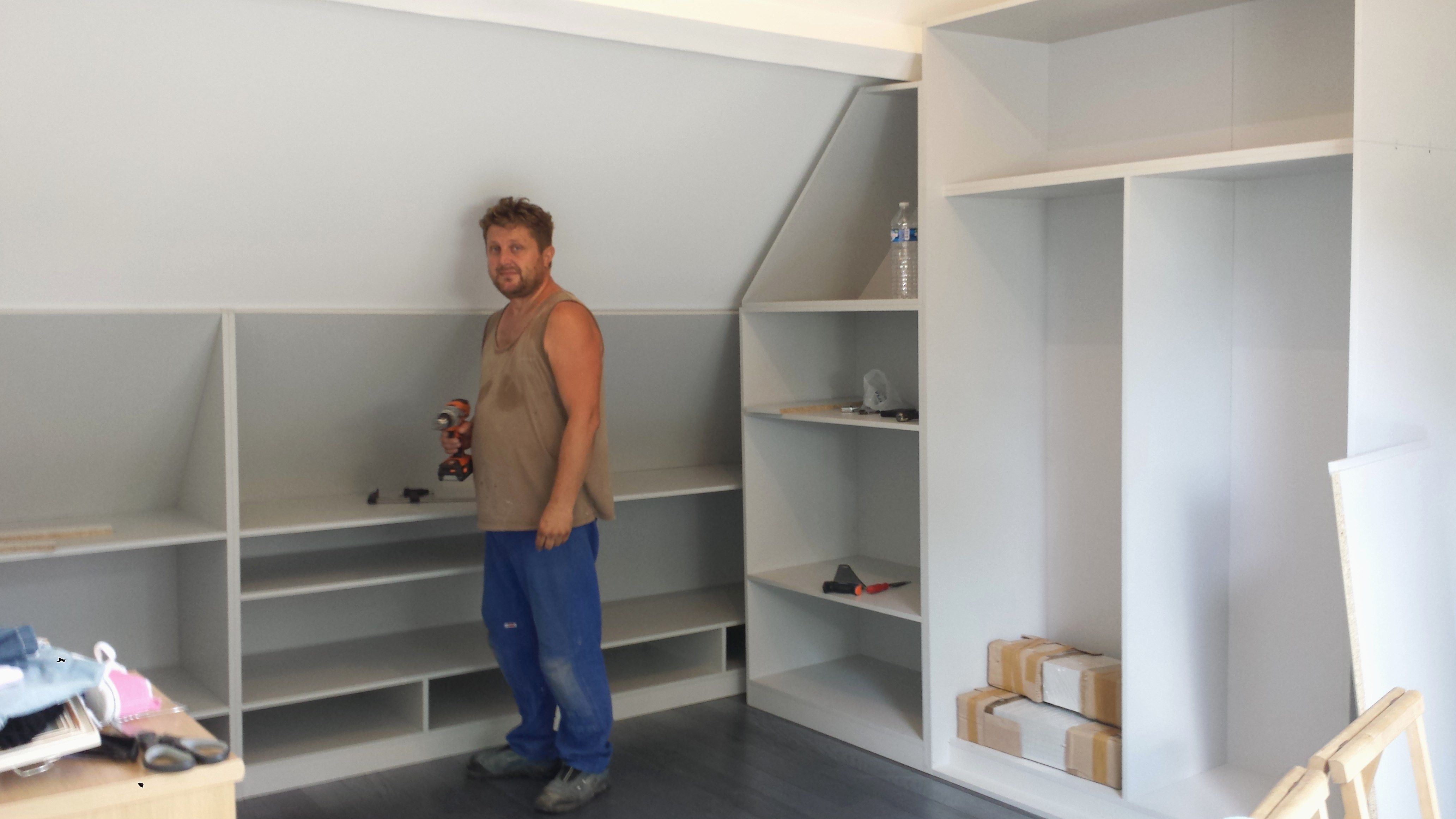 Module Placard Sous Pente 15 unique meuble sous pente pas cher idées | dressing room