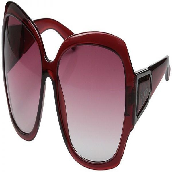 Womens GU0217F_F37 Sunglasses, Red (Bordeaux), 62 Guess