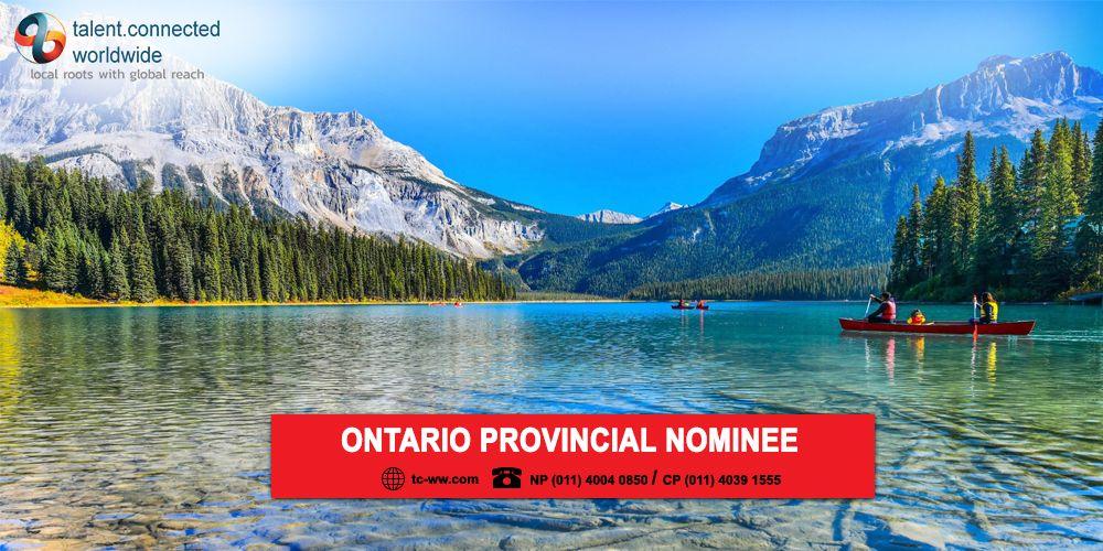 Ontario Provincial Nominee in 2020 Canada travel