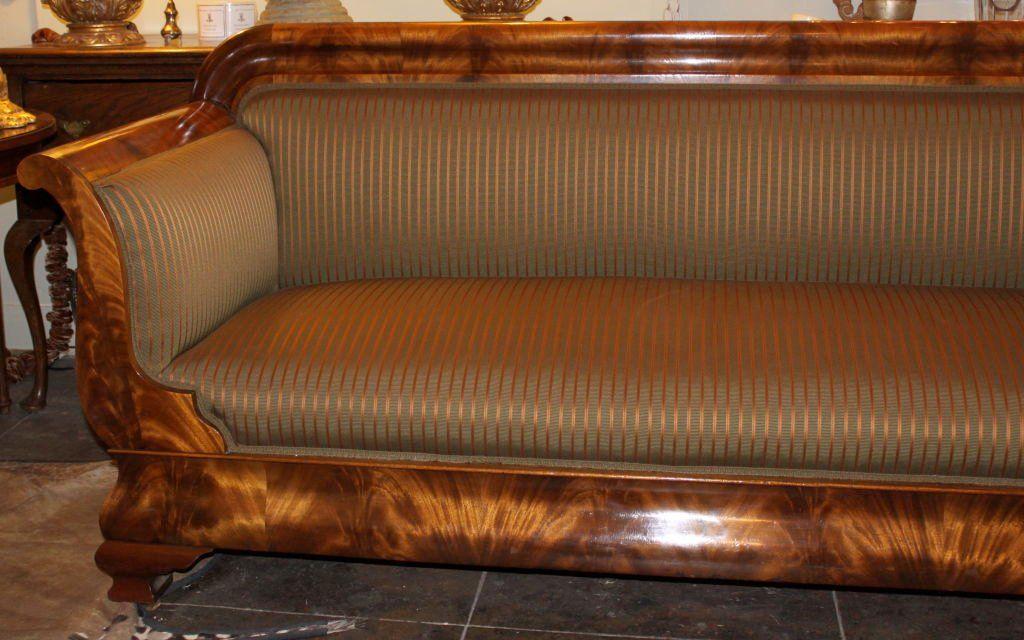 19th C American Empire Sofa American Empire Pinterest Empire