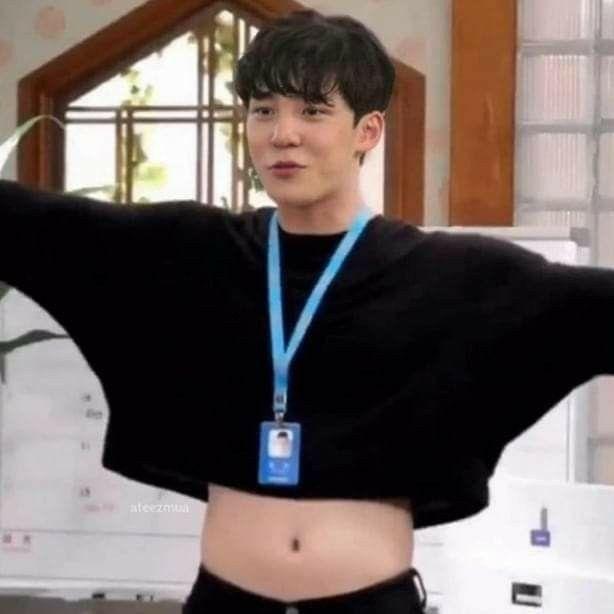 Yunho Cute Tummy Tummy Cute Icons Kim Hongjoong