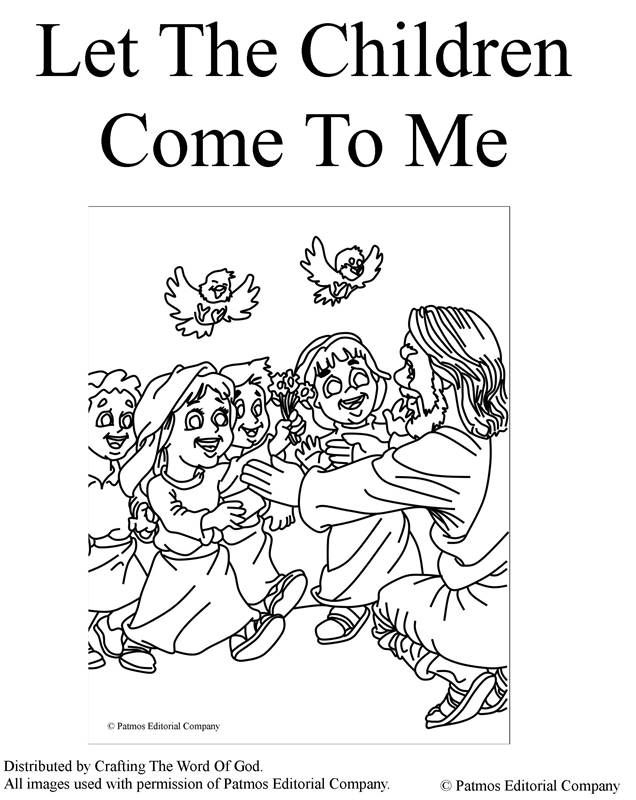 feeding the multitude coloring pages coloring pages are a great way to end a jesus teachingsfollow jesuschildren - Jesus Children Coloring Page