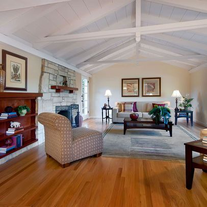 Living Room Exposed Rafters Attic Design Ideas Pictures Remodel And Decor Page 7 Vaulted Living Rooms Ceiling Design Living Room Ranch House Designs