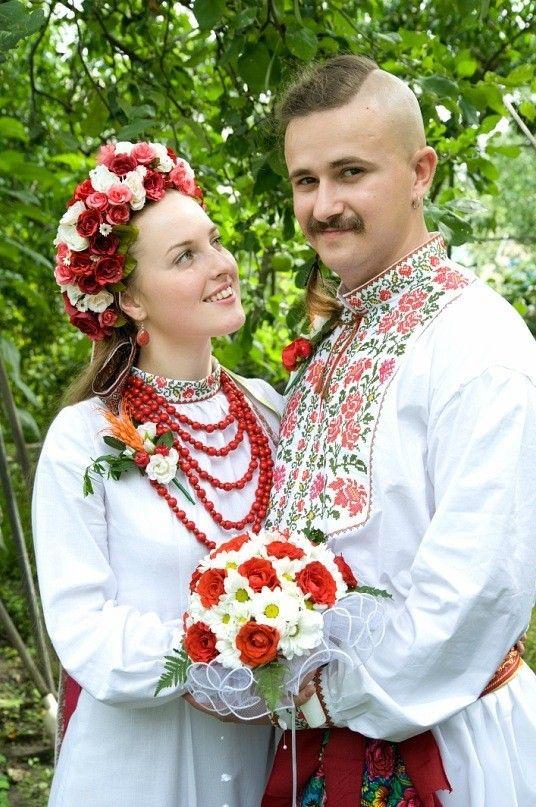 свадьба в украинском стиле фото такой