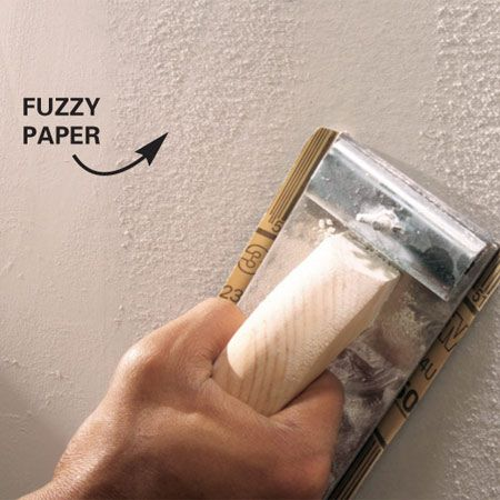 Drywall Sanding Tips And Techniques O Sanding Tips Drywall Repair Drywall