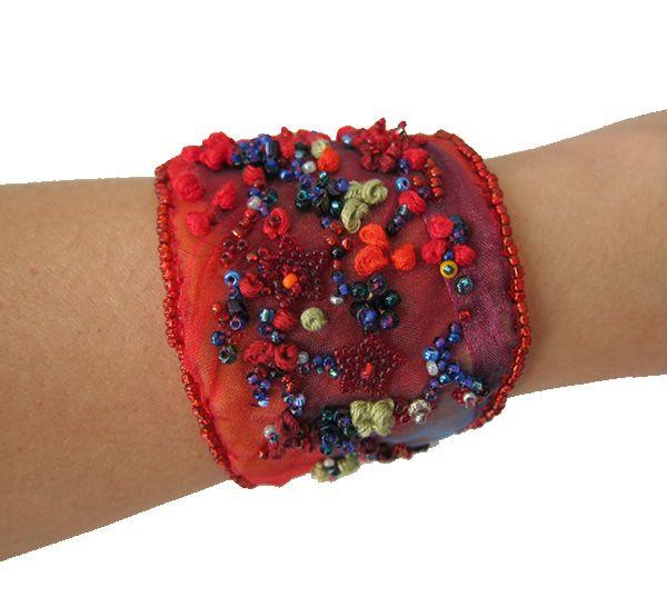 Handmade-Red-Bracelet