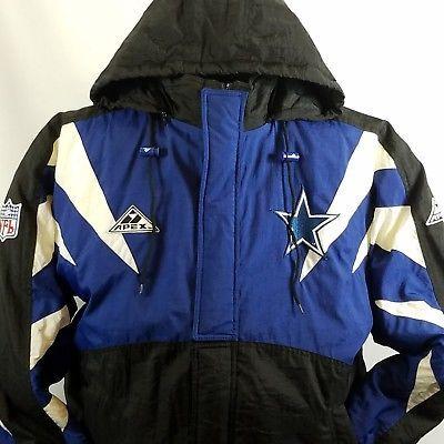 premium selection 5d7dc 96bd2 Details about VINTAGE 90s Dallas Cowboys Apex One Pro Line ...