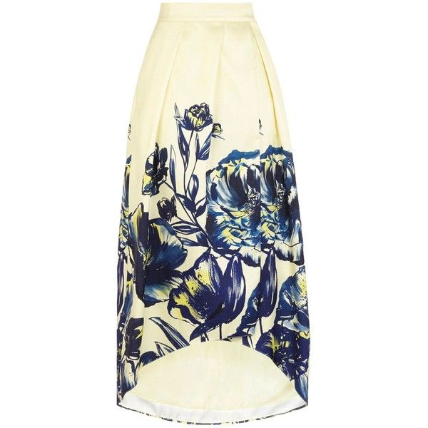 Coast Mina Jacquard Full Skirt (17.270 RUB) via Polyvore featuring skirts, women, full skirt, coast skirts, flared skirt, flare skirt и hi low skirt