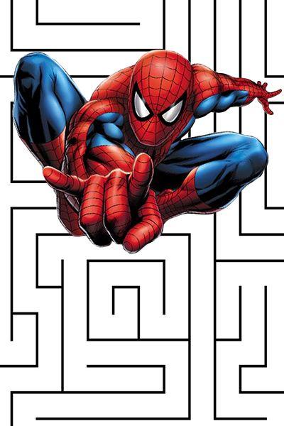 Activities Marvel Kids Marvel Kids Spiderman Spiderman Printables