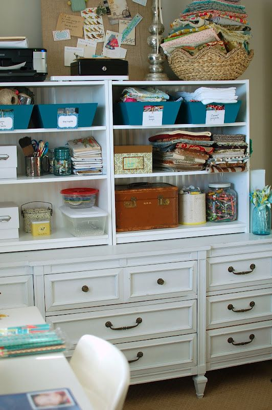 Add Cheap Walmart Shelves On Top Of Dresser For More Storage