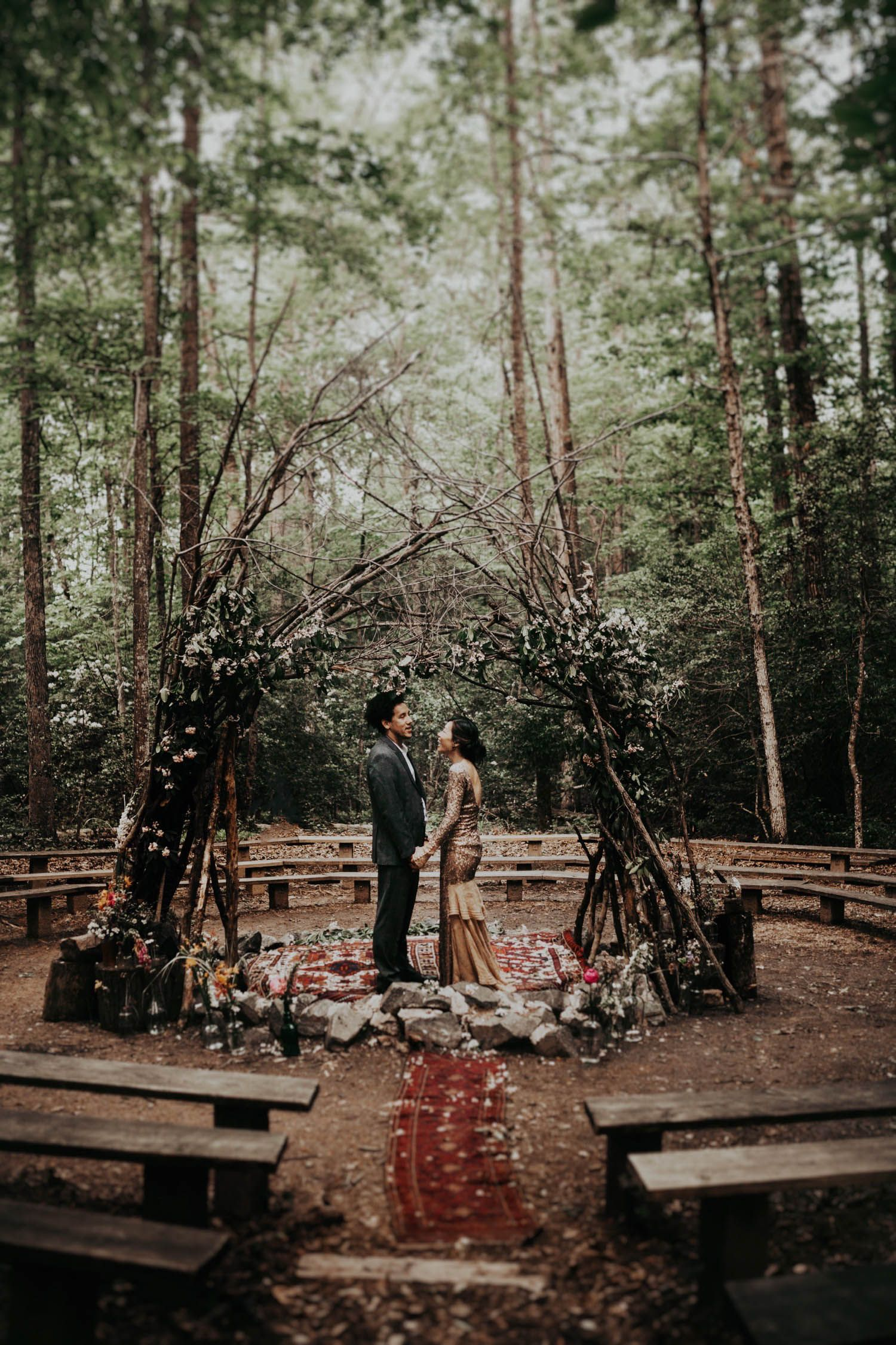 This Eclectic Prince William Forest Park Wedding is Just