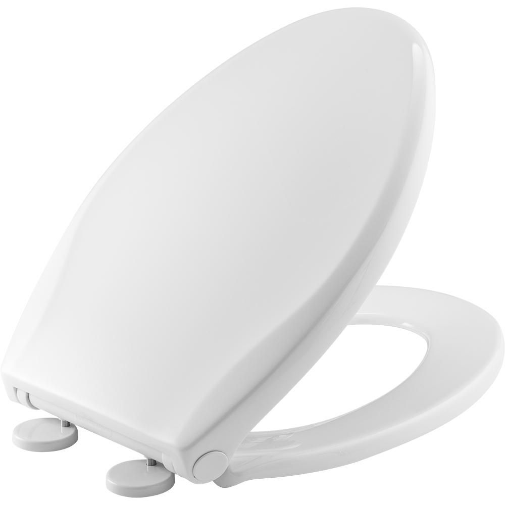 Admirable Bemis Push Nclean Elongated Closed Front Toilet Seat In Onthecornerstone Fun Painted Chair Ideas Images Onthecornerstoneorg