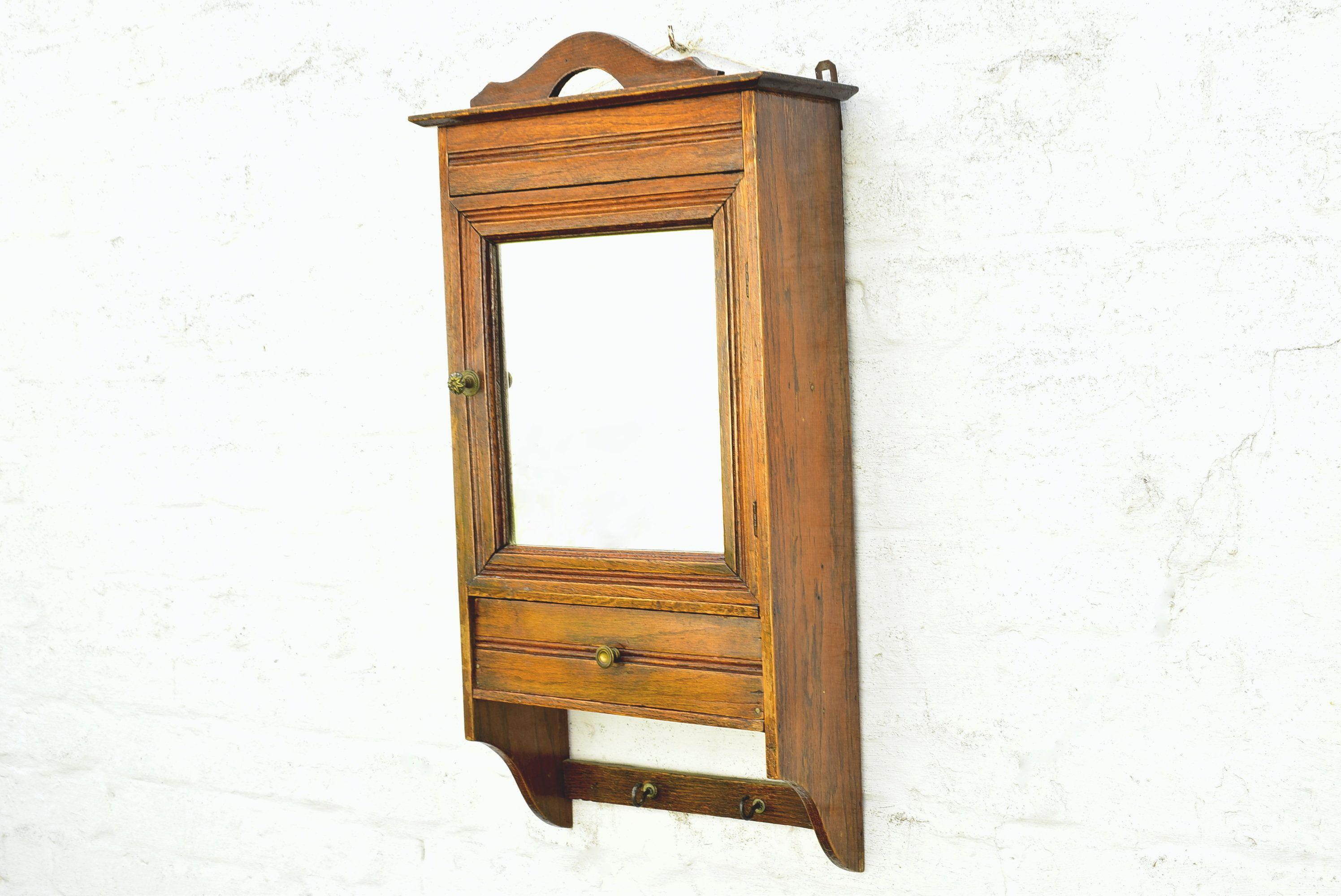 Antique Wall Cabinet Vintage Kitchen Or Bathroom Storage Etsy Antique Wall Cabinet Wall Cabinet Vintage Kitchen
