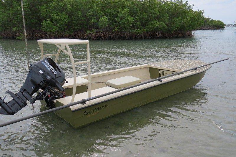 Salt Marsh skiffs: Hybrid Jon/Skiffs http://www.saltmarshskiffs ...