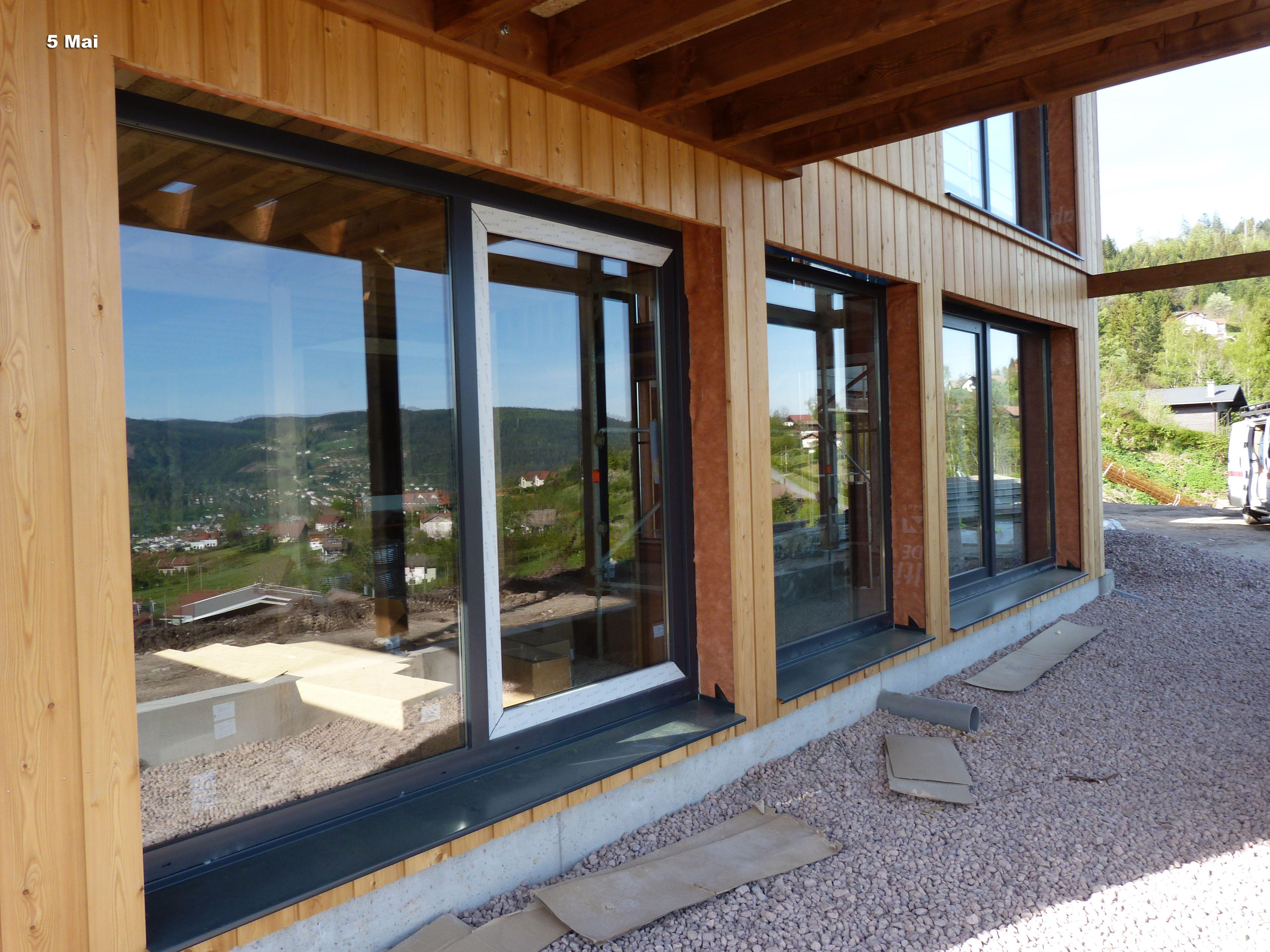 Maison Ossature Bois Vosges maison ossature bois de cuny constructions du tableau
