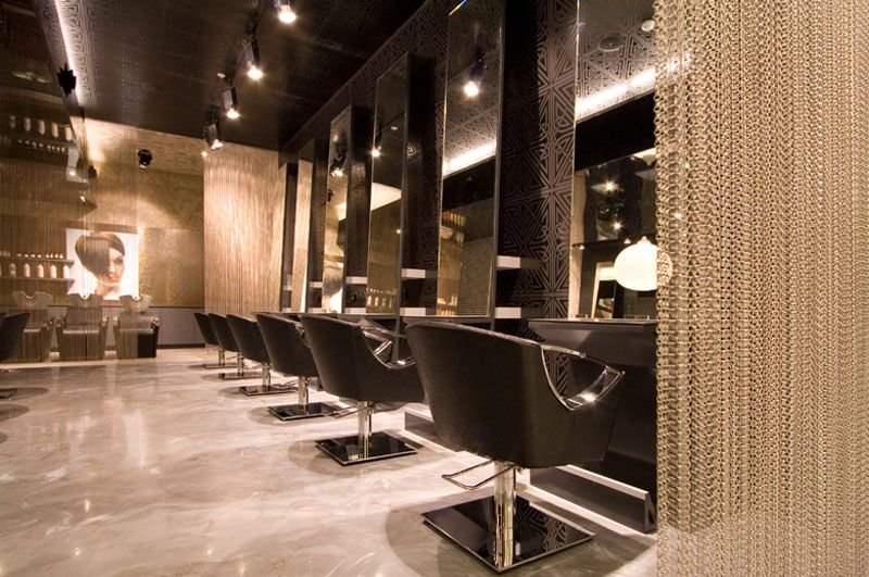 house designcaptivating hair salon interior design with black ...