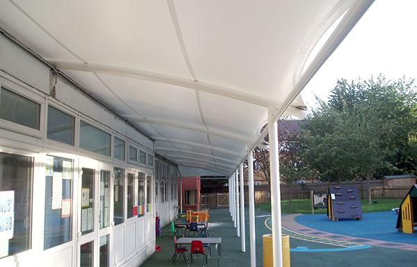 Brecon Walkway Lean To A Lean To Fabric Walkway That Can