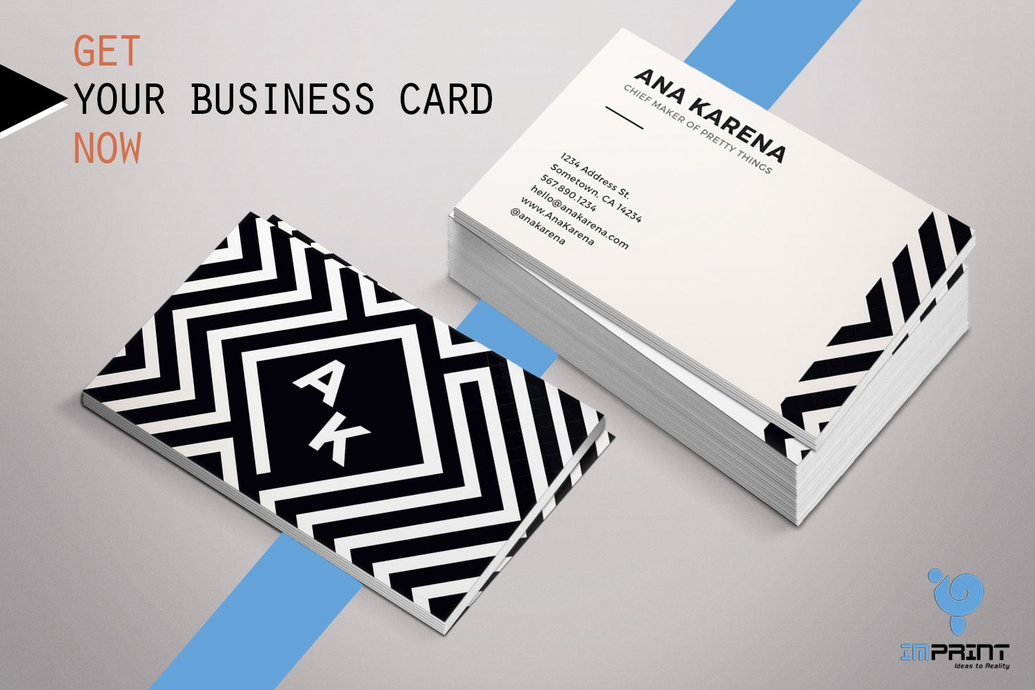 YOUR BUSINESS CARDS GET NOW We design all kind of business card with ...