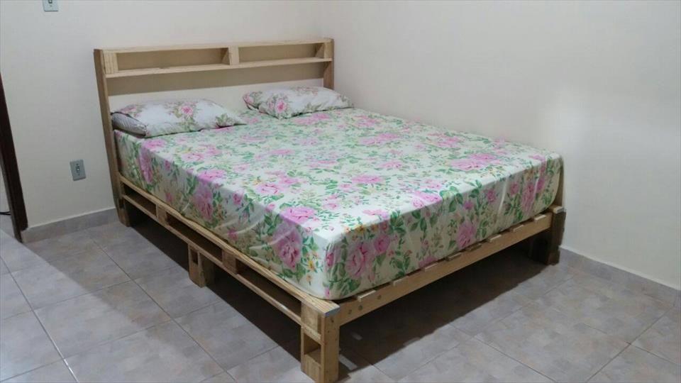 DIY: Making Your Own Pallet Patio Furniture | Bed frames, Pallets ...