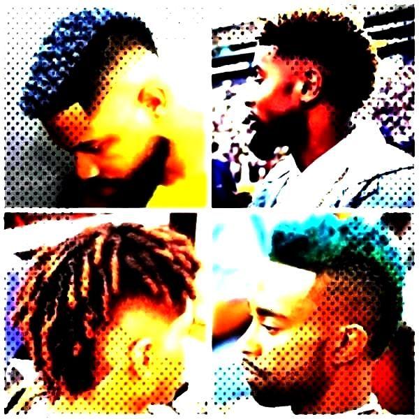 une coiffure originale pour les hommes afro  - Proud People -Le blason, une coiffure origiblason,