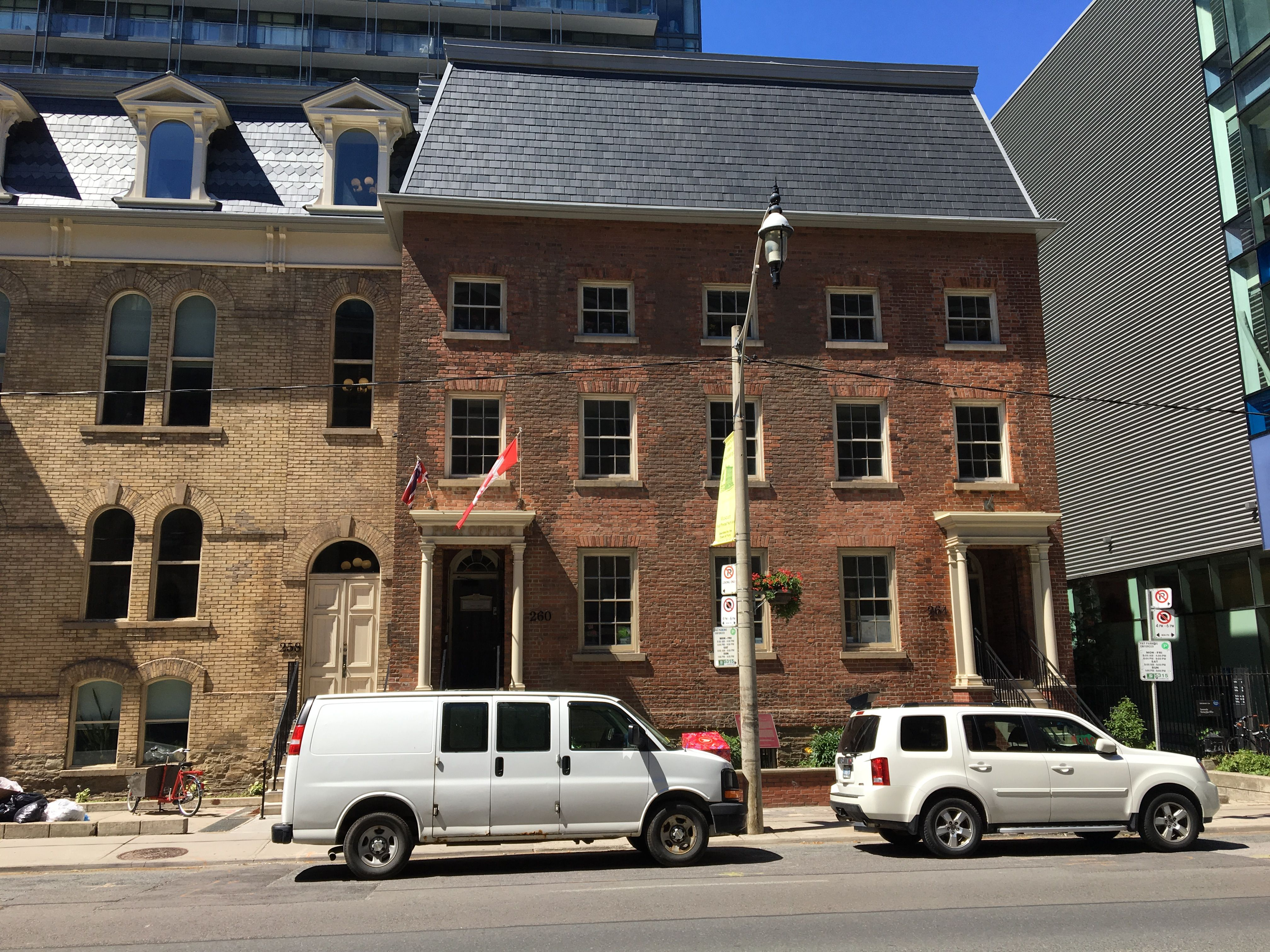 Toronto S First Post Office Located At 260 Adelaide Street East Built In 1833 1834 Is An Example Of Georgian Style Ar Slate Roof North Country Adelaide Street