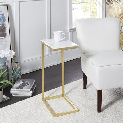 Wrought Studio Cindi End Table C Table Marble End Tables End Tables