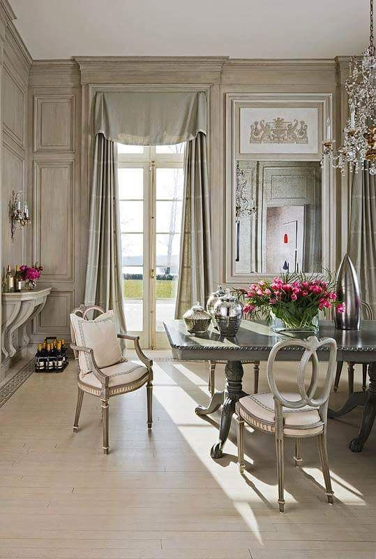 French Country Home U2014 Lagarconnierebbsalerno: Www.lagarconniere.it La... French  Dining RoomsGray ...