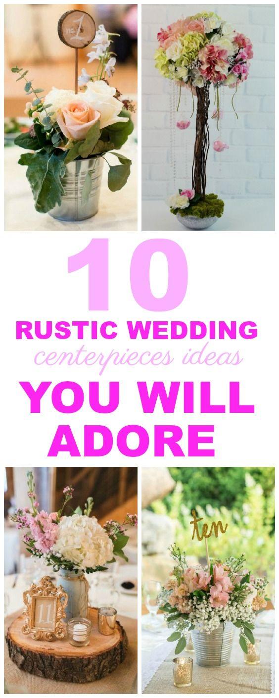 rustic wedding centerpieces ideas you will adore wedding prep