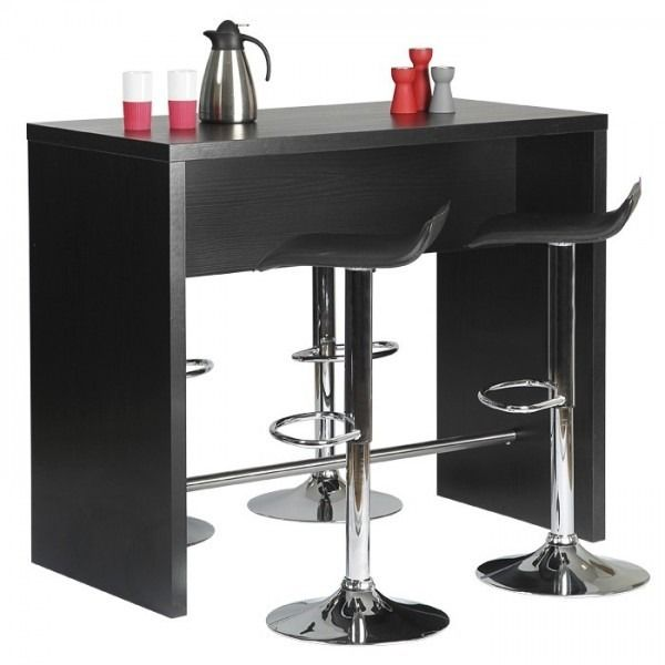 High Quality Black Ash Breakfast Bar / Bar Table By Designa   It Just Isnu0027t Possible