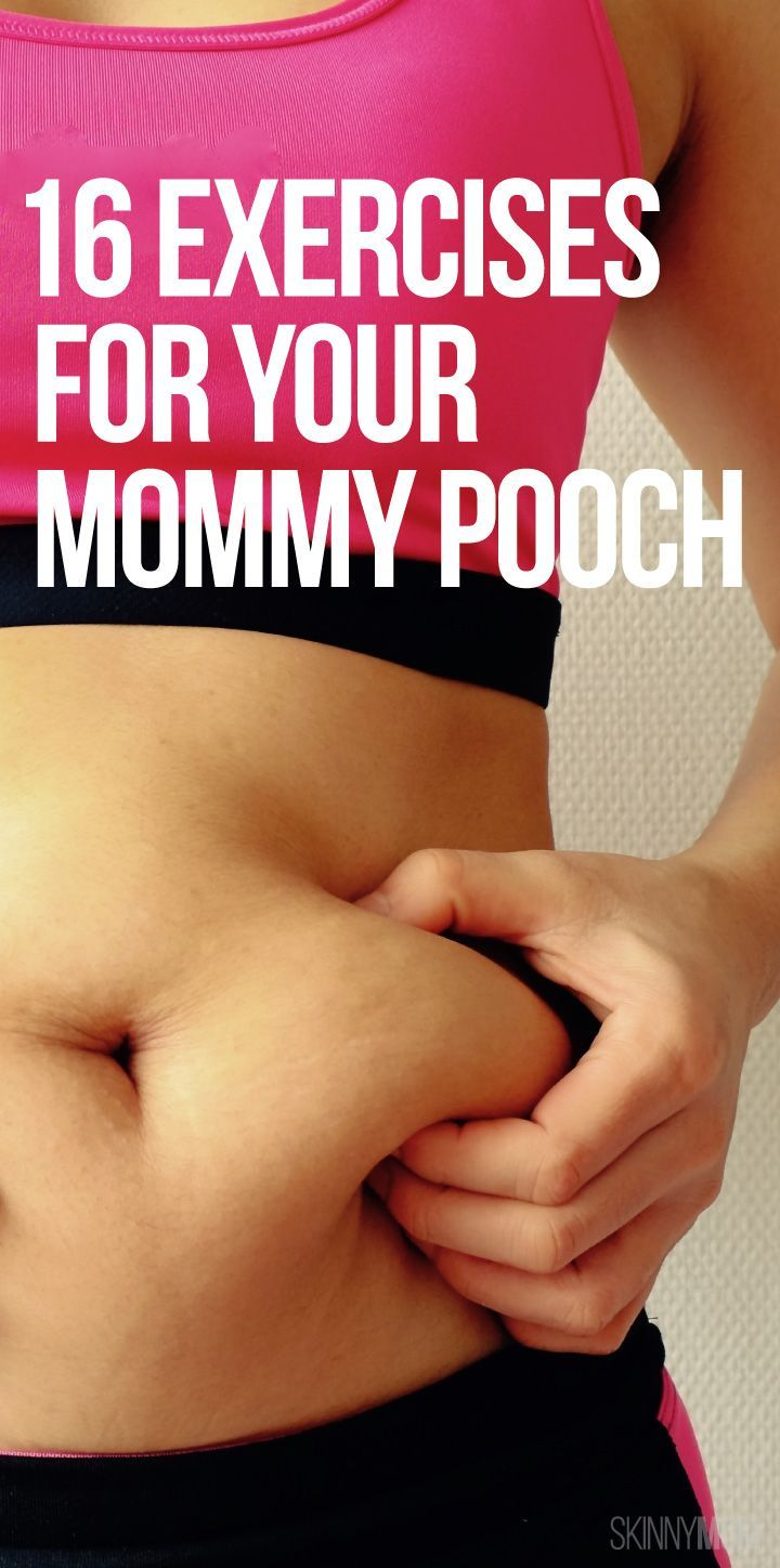 16 exercises to get rid of your mommy muffin video