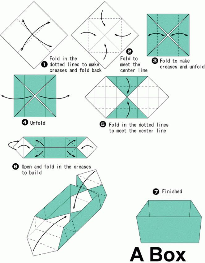 Simple Origami Box Google Search Projects To Try Pinterest