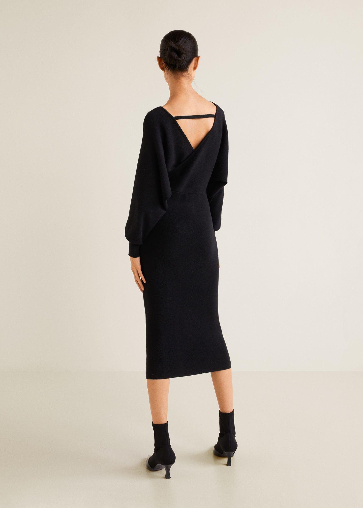 Wrap Back Dress Women Mango Usa The Dress Moda Stilleri Elbise