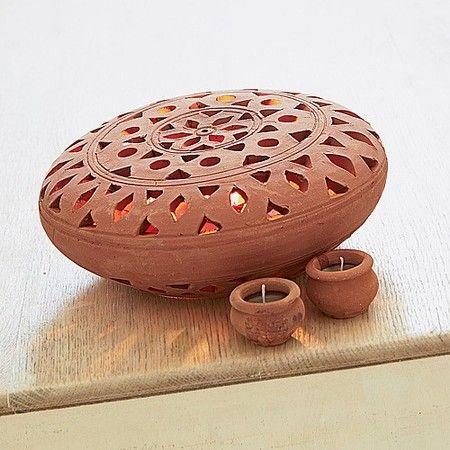 Dalit Pierced-clay Lantern