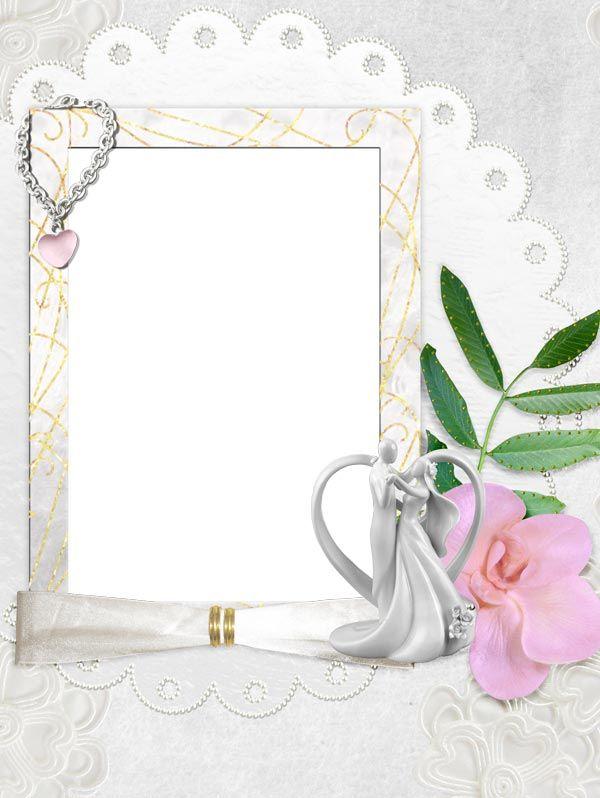 Рамки и картинки для свадебных поздравлений, раскраска