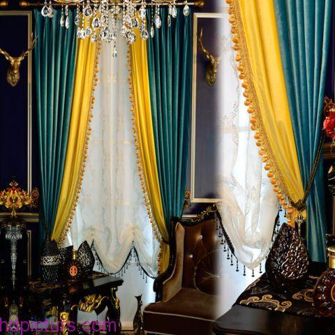 ستائر مودرن 2017 اجمل كتالوج صور ستائر مودرن أحدث موضة Curtains Living Room Living Room White Curtains