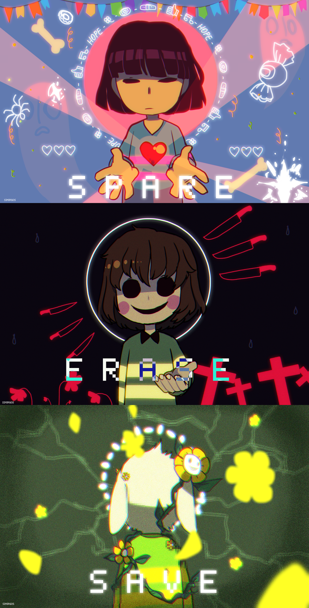 SPARE // ERASE // SAVE by escafandrista on DeviantArt