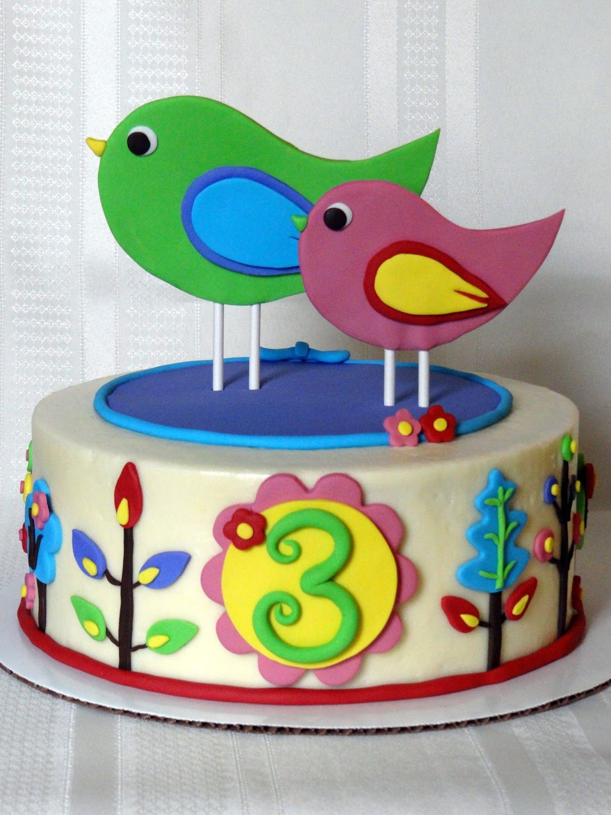 best birthday cakes for 3 year old girl Google Search 3rd bday