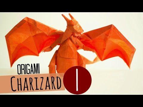 How to make an Origami Charizard (Tadashi Mori) Part 1 - YouTube