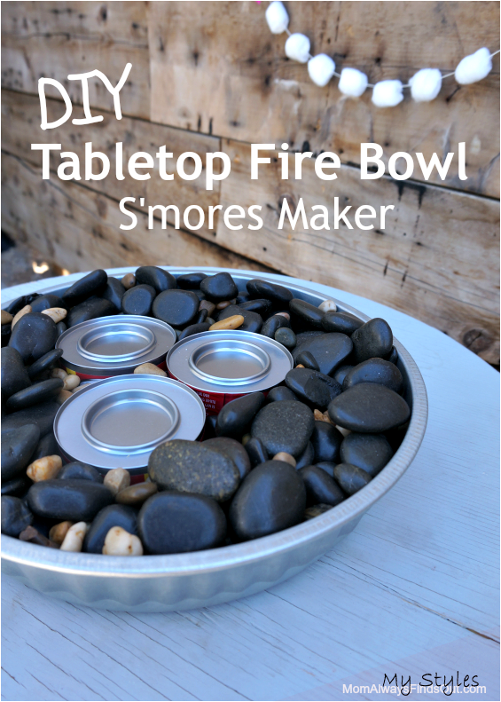Aug 4 2019 You Can Toast S Mores Anytime On This Diy Tabletop Fire Bowl Here S How I Put One Together On In 2020 Tabletop Fire Bowl Fire Bowls Fire Pit Essentials