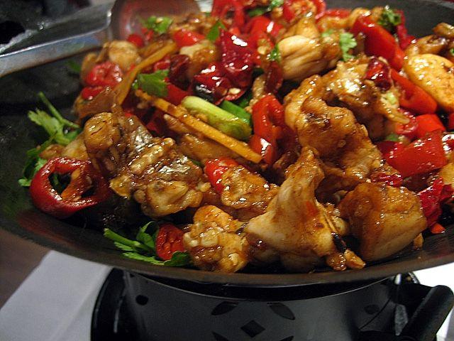 thai style szechuan chicken  szechuan chicken asian