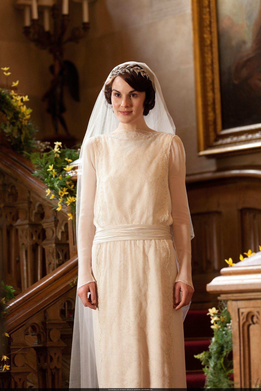 Very Nicely My Lady: Lady Mary Crawley Wedding Dress At Reisefeber.org